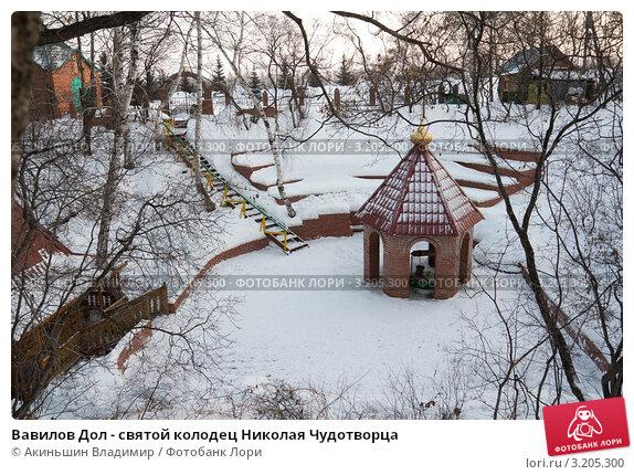 Купить «Вавилов Дол - святой колодец Николая Чудотворца», фото № 3205300, снято 3 января 2012 г. (c) Акиньшин Владимир / Фотобанк Лори