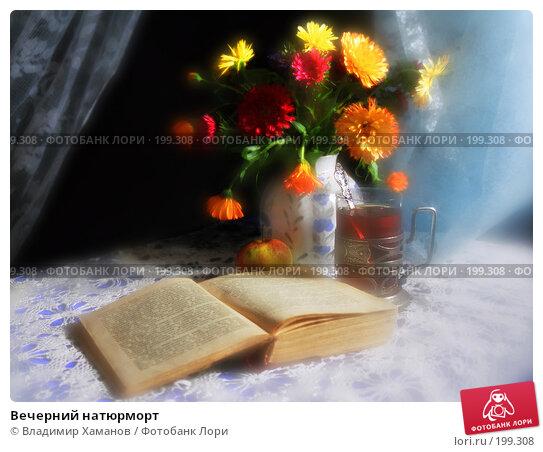 Вечерний натюрморт, фото № 199308, снято 24 февраля 2017 г. (c) Владимир Хаманов / Фотобанк Лори
