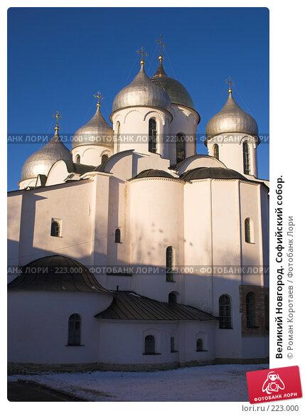 Великий Новгород. Софийский собор., фото № 223000, снято 2 января 2008 г. (c) Роман Коротаев / Фотобанк Лори