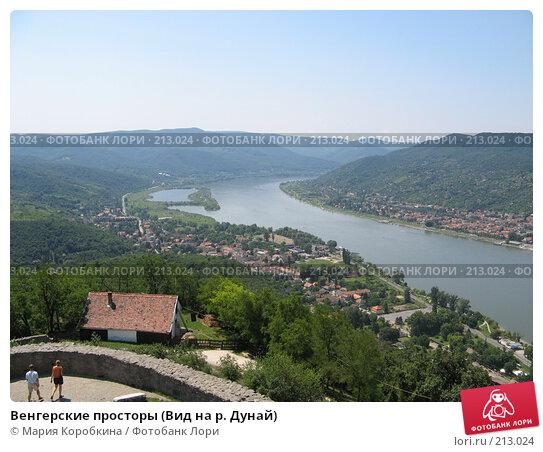 Венгерские просторы (Вид на р. Дунай), фото № 213024, снято 23 августа 2017 г. (c) Мария Коробкина / Фотобанк Лори