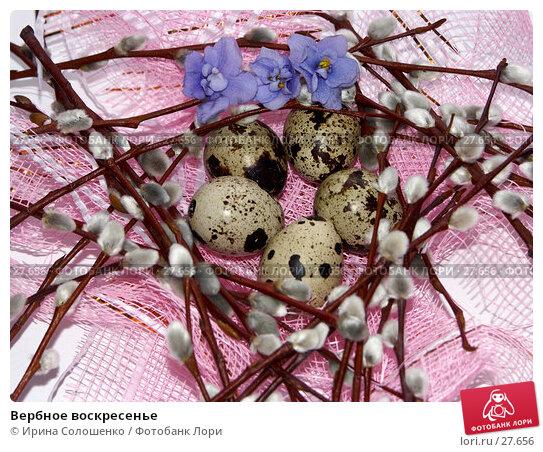 Вербное воскресенье, фото № 27656, снято 26 марта 2007 г. (c) Ирина Солошенко / Фотобанк Лори
