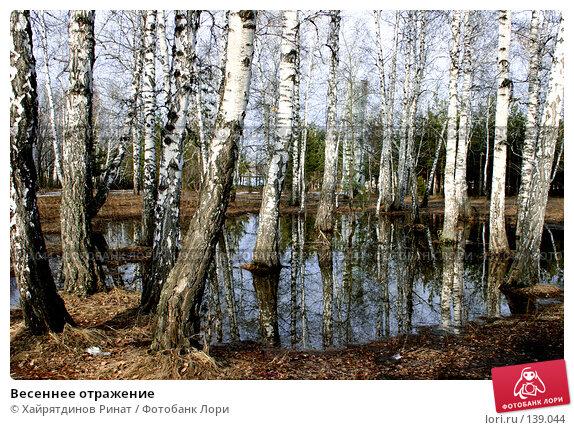 Весеннее отражение, фото № 139044, снято 12 апреля 2006 г. (c) Хайрятдинов Ринат / Фотобанк Лори