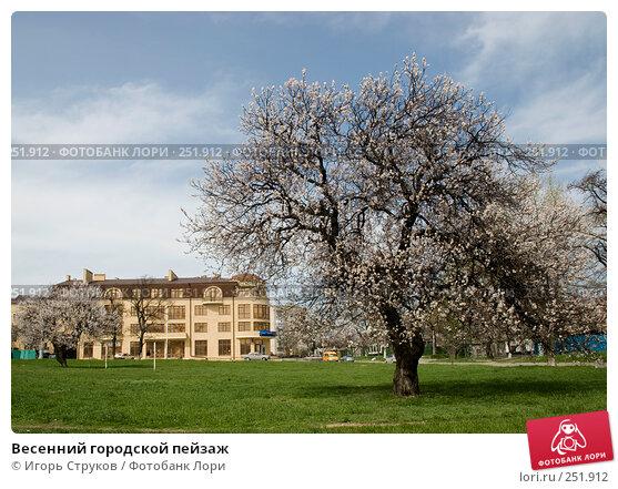 Весенний городской пейзаж, фото № 251912, снято 15 апреля 2008 г. (c) Игорь Струков / Фотобанк Лори