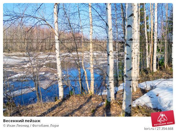 Купить «Весенний пейзаж», фото № 27354668, снято 28 апреля 2016 г. (c) Икан Леонид / Фотобанк Лори
