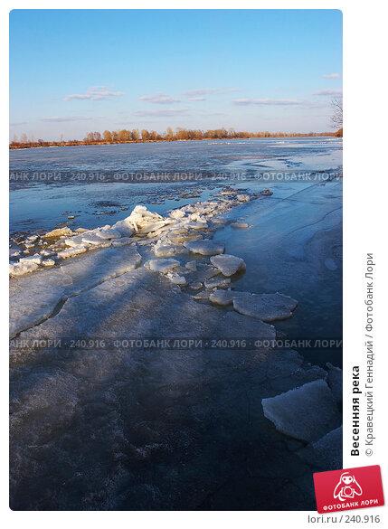 Весенняя река, фото № 240916, снято 24 марта 2017 г. (c) Кравецкий Геннадий / Фотобанк Лори