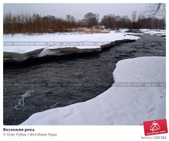 Весенняя река, фото № 268584, снято 16 марта 2008 г. (c) Олег Рубик / Фотобанк Лори