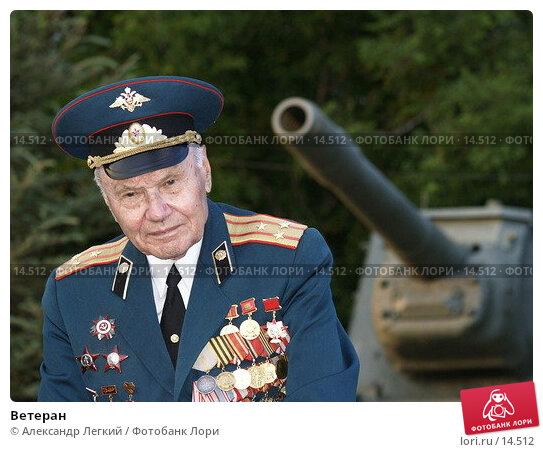 Купить «Ветеран», фото № 14512, снято 22 июня 2006 г. (c) Александр Легкий / Фотобанк Лори