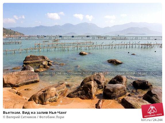 Купить «Вьетнам. Вид на залив Нья-Чанг», фото № 24244, снято 14 февраля 2007 г. (c) Валерий Ситников / Фотобанк Лори