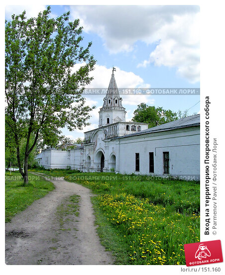 Вход на территорию Покровского собора, фото № 151160, снято 29 мая 2004 г. (c) Parmenov Pavel / Фотобанк Лори
