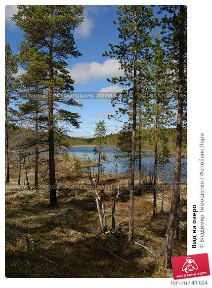 Вид на озеро, фото № 49024, снято 27 мая 2007 г. (c) Владимир Тимошенко / Фотобанк Лори