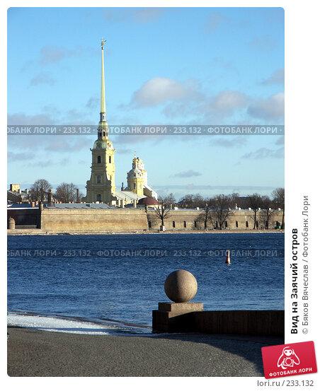 Вид на Заячий остров, фото № 233132, снято 26 февраля 2008 г. (c) Бяков Вячеслав / Фотобанк Лори