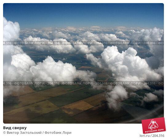 Вид сверху, фото № 204316, снято 17 июня 2006 г. (c) Виктор Застольский / Фотобанк Лори