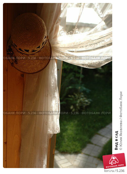 Купить «Вид в сад», фото № 5236, снято 4 июля 2006 г. (c) Юлия Яковлева / Фотобанк Лори