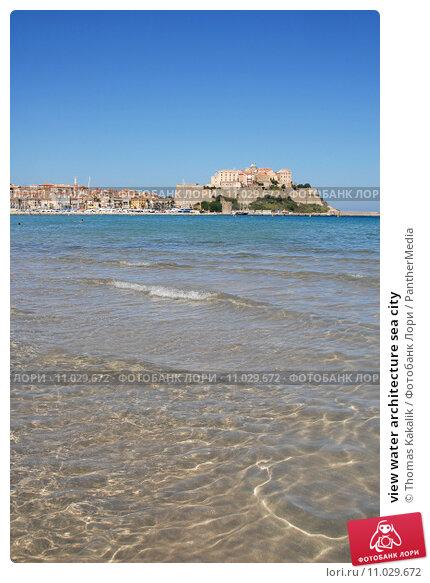 Купить «view water architecture sea city», фото № 11029672, снято 7 мая 2020 г. (c) PantherMedia / Фотобанк Лори