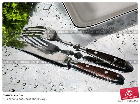 Вилка и нож, фото № 329620, снято 6 июня 2008 г. (c) Сергей Белов / Фотобанк Лори