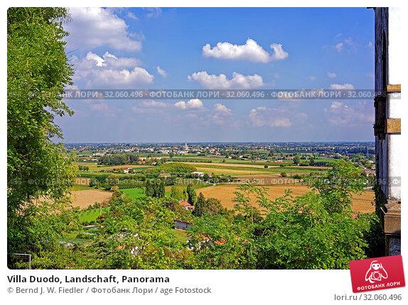 Villa Duodo, Landschaft, Panorama. Стоковое фото, фотограф Bernd J. W. Fiedler / age Fotostock / Фотобанк Лори