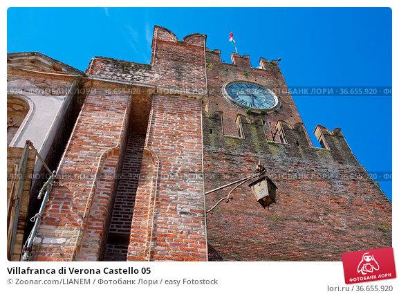 Villafranca di Verona Castello 05. Стоковое фото, фотограф Zoonar.com/LIANEM / easy Fotostock / Фотобанк Лори