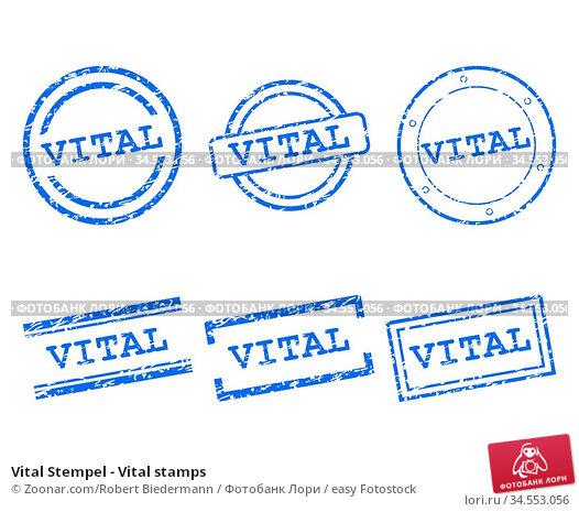 Vital Stempel - Vital stamps. Стоковое фото, фотограф Zoonar.com/Robert Biedermann / easy Fotostock / Фотобанк Лори