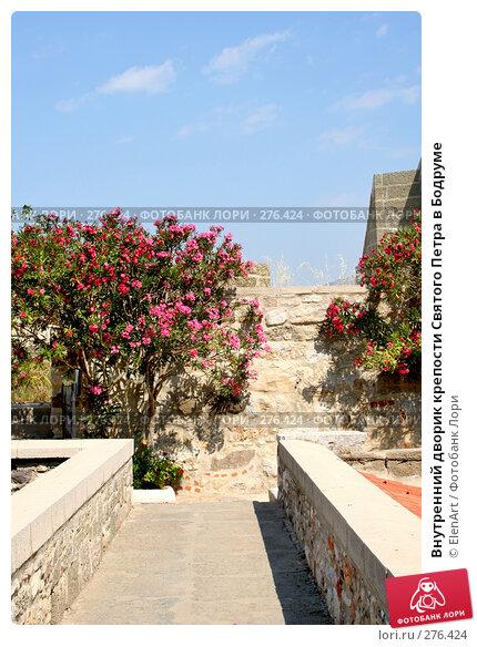 Внутренний дворик крепости Святого Петра в Бодруме, фото № 276424, снято 27 марта 2017 г. (c) ElenArt / Фотобанк Лори