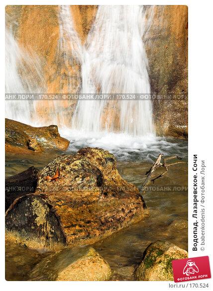 Купить «Водопад. Лазаревское. Сочи», фото № 170524, снято 5 января 2007 г. (c) Бабенко Денис Юрьевич / Фотобанк Лори