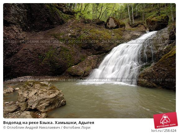 Водопад на реке Бзыха. Хамышки, Адыгея, фото № 258624, снято 19 апреля 2008 г. (c) Оглоблин Андрей Николаевич / Фотобанк Лори