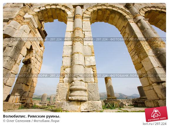 Волюбилис. Римские руины., фото № 297224, снято 25 февраля 2008 г. (c) Олег Селезнев / Фотобанк Лори