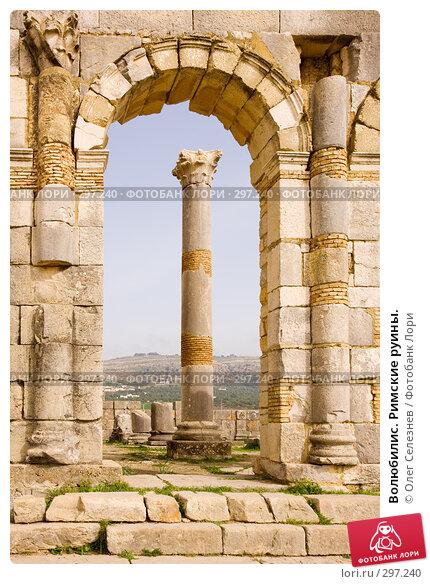Волюбилис. Римские руины., фото № 297240, снято 25 февраля 2008 г. (c) Олег Селезнев / Фотобанк Лори