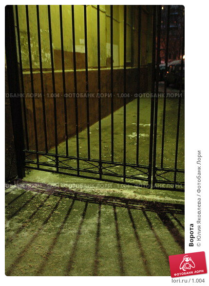 Купить «Ворота», фото № 1004, снято 28 февраля 2006 г. (c) Юлия Яковлева / Фотобанк Лори
