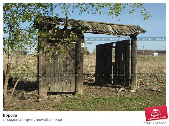 Ворота, фото № 313356, снято 19 мая 2008 г. (c) Талдыкин Юрий / Фотобанк Лори