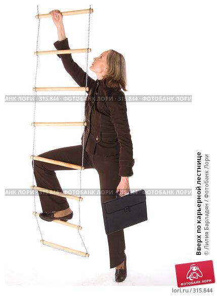 Купить «Вверх по карьерной лестнице», фото № 315844, снято 12 февраля 2008 г. (c) Лилия Барладян / Фотобанк Лори