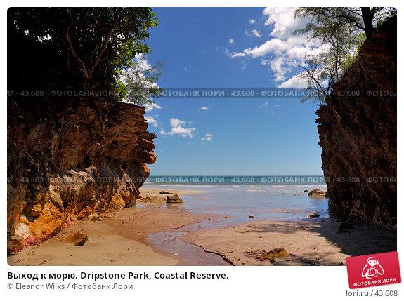 Купить «Выход к морю. Dripstone Park, Coastal Reserve.», фото № 43608, снято 13 мая 2007 г. (c) Eleanor Wilks / Фотобанк Лори