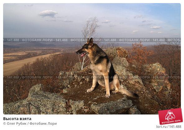 Высота взята, фото № 141488, снято 17 ноября 2007 г. (c) Олег Рубик / Фотобанк Лори