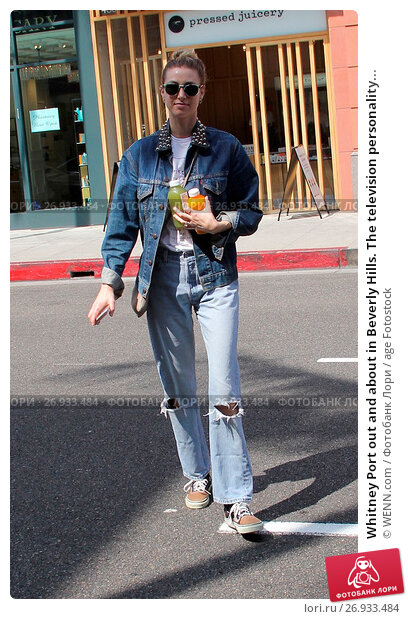 Купить «Whitney Port out and about in Beverly Hills. The television personality is seen at Pressed Juicery and stops by a nail salon. Featuring: Whitney Port Where...», фото № 26933484, снято 1 июня 2016 г. (c) age Fotostock / Фотобанк Лори