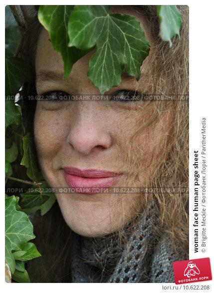 woman face human page sheet. Стоковое фото, фотограф Brigitte Meckle / PantherMedia / Фотобанк Лори