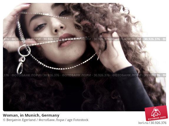 Купить «Woman, in Munich, Germany», фото № 30926376, снято 6 мая 2019 г. (c) age Fotostock / Фотобанк Лори