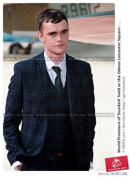 World Premiere of 'Dunkirk' held at the Odeon Leicester Square - ... (2017 год). Редакционное фото, фотограф WENN.com / age Fotostock / Фотобанк Лори