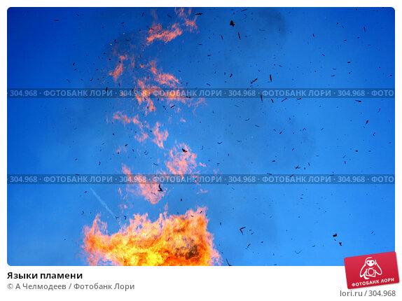Языки пламени, фото № 304968, снято 18 февраля 2007 г. (c) A Челмодеев / Фотобанк Лори