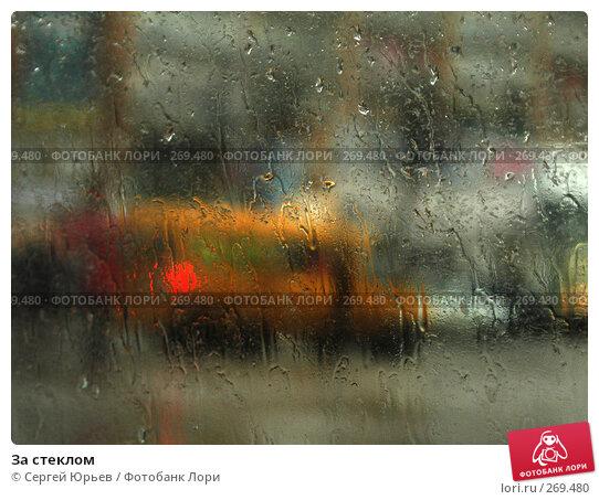 За стеклом, фото № 269480, снято 11 декабря 2016 г. (c) Сергей Юрьев / Фотобанк Лори