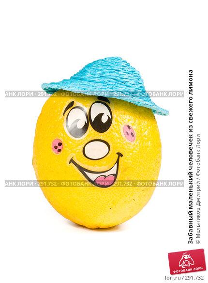 Забавный маленький человечек из свежего лимона, фото № 291732, снято 2 мая 2008 г. (c) Мельников Дмитрий / Фотобанк Лори