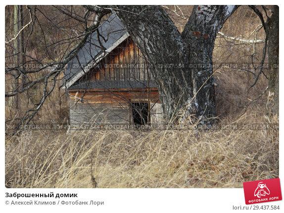 Купить «Заброшенный домик», фото № 29437584, снято 15 ноября 2018 г. (c) Алексей Климов / Фотобанк Лори