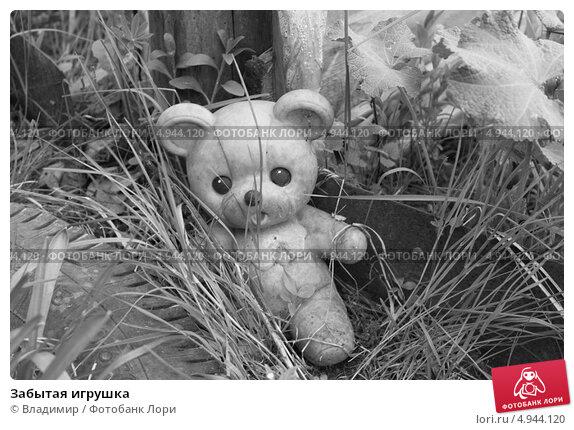 Забытая игрушка. Стоковое фото, фотограф Владимир / Фотобанк Лори