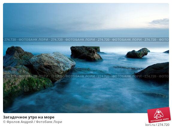 Загадочное утро на море, фото № 274720, снято 9 апреля 2008 г. (c) Фролов Андрей / Фотобанк Лори