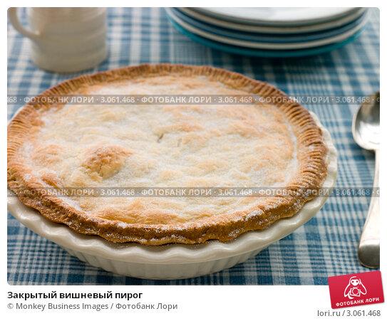 Купить «Закрытый вишневый пирог», фото № 3061468, снято 25 февраля 2008 г. (c) Monkey Business Images / Фотобанк Лори