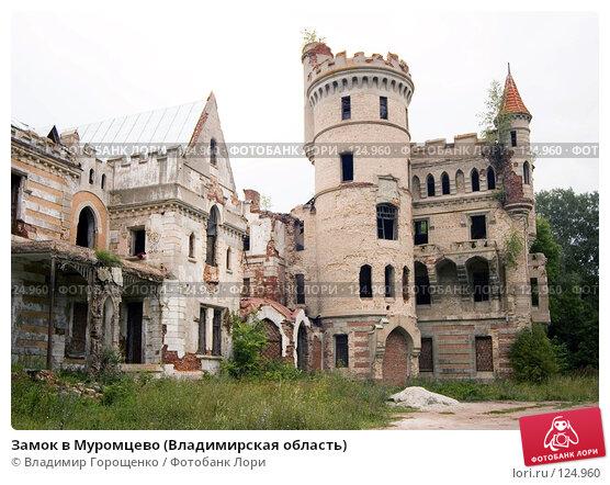 Замок в Муромцево (Владимирская область), фото № 124960, снято 4 августа 2006 г. (c) Владимир Горощенко / Фотобанк Лори