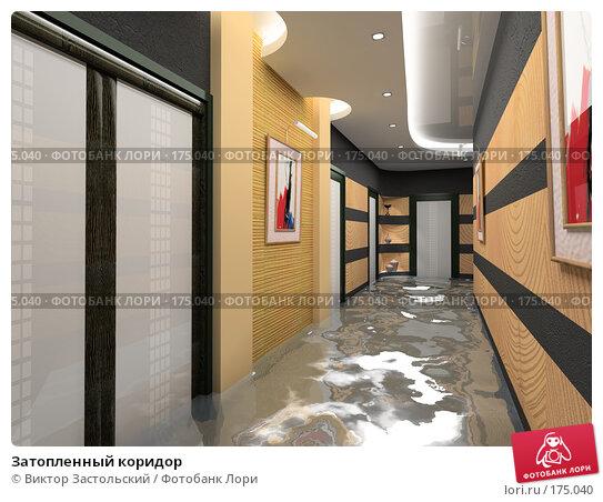 Купить «Затопленный коридор», иллюстрация № 175040 (c) Виктор Застольский / Фотобанк Лори