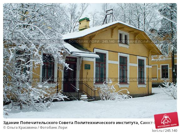 Здание Попечительского Совета Политехнического института, Санкт-Петербург, фото № 245140, снято 27 января 2008 г. (c) Ольга Красавина / Фотобанк Лори