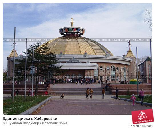Здание цирка в Хабаровске, фото № 142908, снято 2 марта 2004 г. (c) Шумилов Владимир / Фотобанк Лори