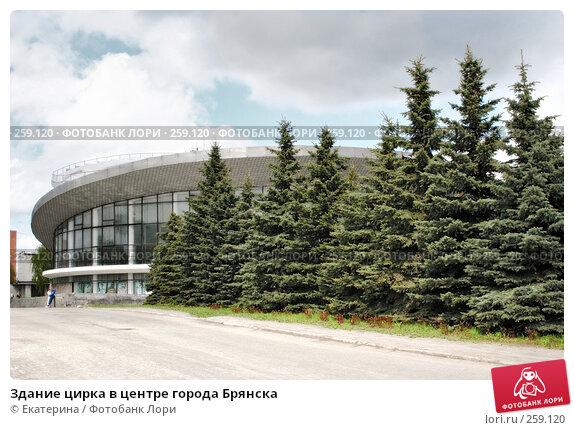 Здание цирка в центре города Брянска, фото № 259120, снято 9 мая 2005 г. (c) Екатерина / Фотобанк Лори