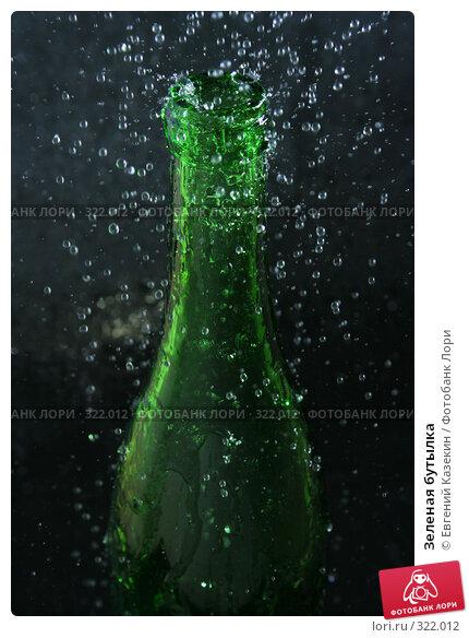 Купить «Зеленая бутылка», фото № 322012, снято 25 сентября 2007 г. (c) Евгений Казекин / Фотобанк Лори
