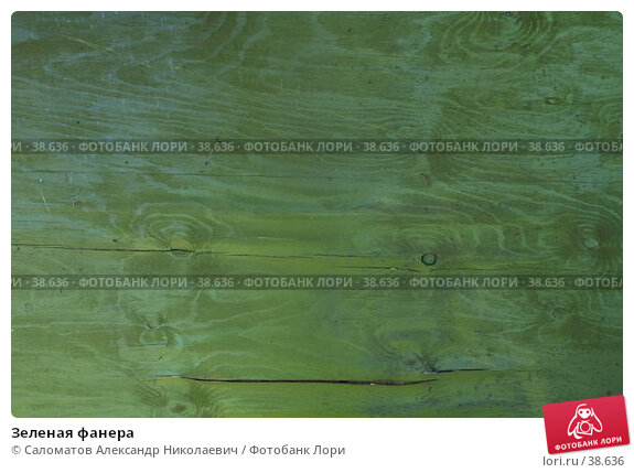 Зеленая фанера, фото № 38636, снято 3 июля 2005 г. (c) Саломатов Александр Николаевич / Фотобанк Лори
